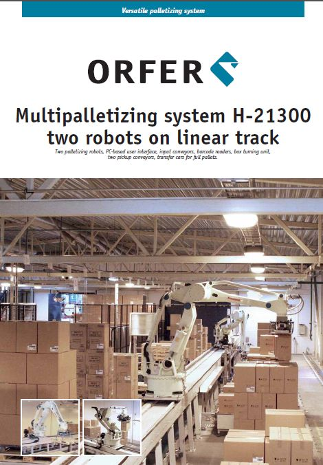 Multipalletizing system