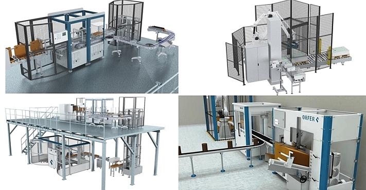 Esimerkkejä Orferin valmistamista automaatioratkaisuista teollisuudelle